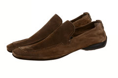 Suede shoes Stock Image