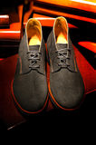 Suede shoes for men Stock Image