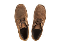 Suede shoes Royalty Free Stock Image