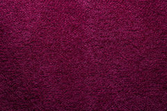 Suede texture. Close up of magenta suede texture Royalty Free Stock Image