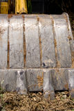 Suelo de acero de la cucharada de la mano. Imagenes de archivo