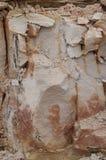 Suelo de arcilla condensado foto de archivo