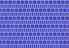 Suelo de azulejo azul stock de ilustración