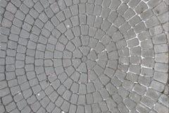 Suelo de baldosas útil como fondo, pavimento de la piedra imagenes de archivo