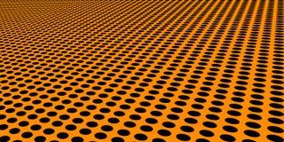Suelo de círculos negros combados libre illustration