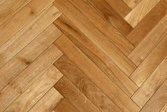 Suelo de entarimado de madera Foto de archivo libre de regalías