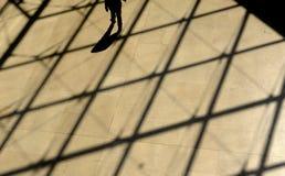 Suelo de la lumbrera, París Fotografía de archivo libre de regalías