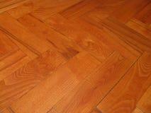 Suelo de la madera dura Imagen de archivo