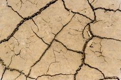 Suelo de la sequía Imagen de archivo libre de regalías