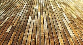 Suelo de madera Imagenes de archivo