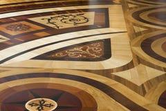 Suelo de madera Imagen de archivo libre de regalías