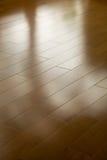 Suelo de madera dura Imagen de archivo libre de regalías