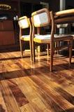 Suelo de madera dura Fotografía de archivo