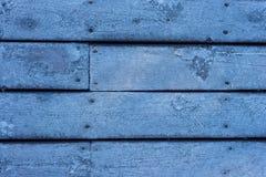 Suelo de madera helado de la casa Imágenes de archivo libres de regalías