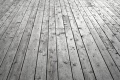 Suelo de madera nudoso fotografía de archivo libre de regalías