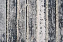 Suelo de madera pintado al aire libre fotos de archivo libres de regalías