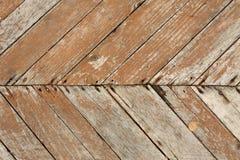 Suelo de madera viejo Foto de archivo