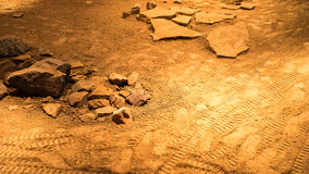 Suelo de Marte Imagen de archivo libre de regalías