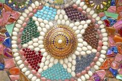 Suelo de mosaico colorido Fotografía de archivo