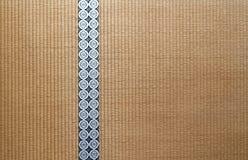 Suelo de Tatami japonés Foto de archivo
