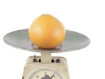 Suelo de un kilogramo de frutas cítricas Imagen de archivo