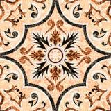 Suelo decorativo Foto de archivo libre de regalías