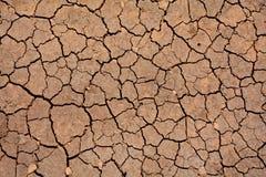Suelo marrón seco en Andalucía Foto de archivo libre de regalías