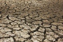 Suelo seco árido Foto de archivo libre de regalías