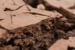 Suelo seco y tierra agrietada imágenes de archivo libres de regalías