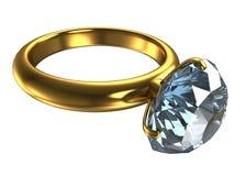Suene con un diamante grande Imagen de archivo