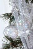 Sueño con una Navidad blanca Imagen de archivo libre de regalías