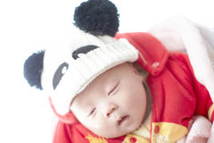 Sueño del bebé Fotografía de archivo
