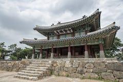 Sueojangdae di Namhansanseong in Corea immagini stock libere da diritti