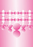 Sueños rosados Imagen de archivo libre de regalías