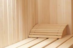 Suer-pièce de sauna Photo libre de droits
