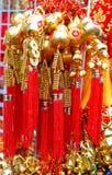 Suerte en Año Nuevo chino en Chinatown Imagen de archivo libre de regalías