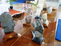 Sueseki art exhibition. Blora central java indonesia royalty free stock photo