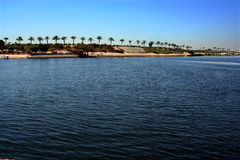 The Suez Canal Stock Images