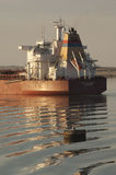SUEZ CANAL/EGYPT - 3rd JANUARY 2007 - The Bulk Carrier RIP Hudne Stock Photos