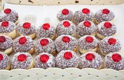 suface красного цвета студня хлеба выпечки Стоковые Изображения