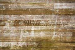 Wooden boards. Suferficie of horizontal wooden boards, texture, background Stock Images