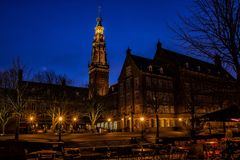 Suffer City, Holland, Blue Hour Stock Photos