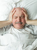 Suffer from loud noise at night Stock Photos