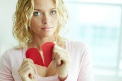 Suffering from love Royalty Free Stock Photography