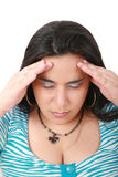 Suffering from pain Royalty Free Stock Photography