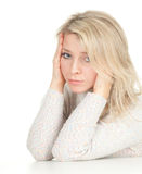 Suffering from pain, headache Royalty Free Stock Photos
