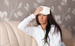 Suffering woman Stock Photos