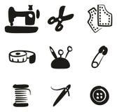 Suffisance de Shop Icons Freehand de tailleur Photos stock