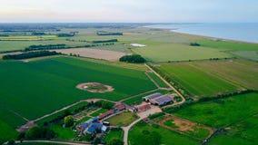Suffolk-Bauernhof lizenzfreie stockbilder