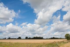 Suffolk Big Sky Stock Image